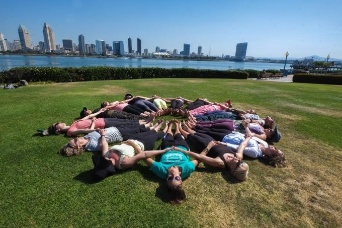 Deep Yoga Circle Mandala